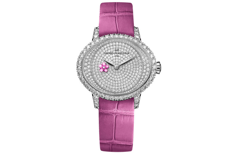 Cat's-Eye-Plum-Blossom-Watch,-Girard-Perregaux