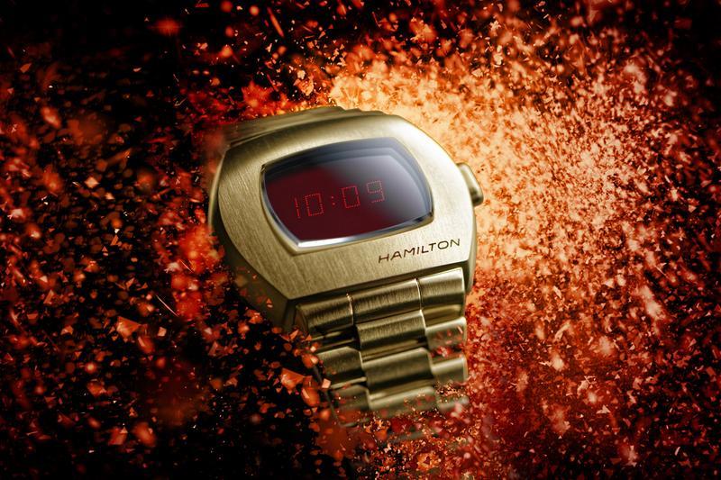 đồng hồ kỹ thuật số Hamilton PSR ra mắt 2020