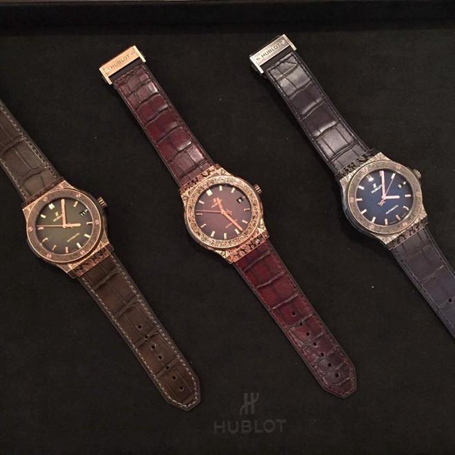 ra mắt đồng hồ Hublot tại TP HCM