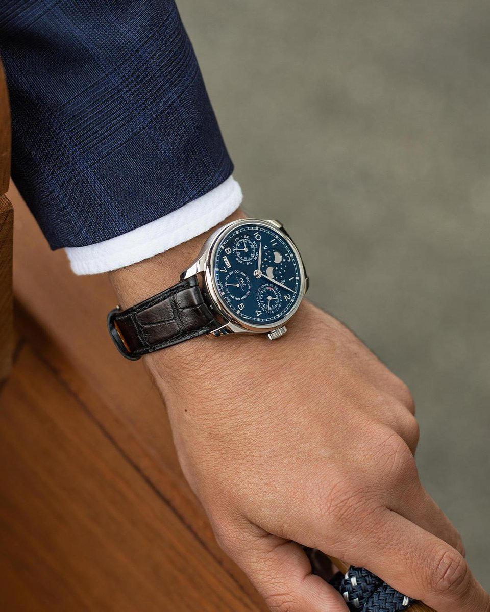 /IWC Portuguese Perpetual Calendar moonphase double