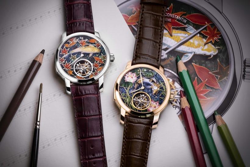 """Đồng hồ Vacheron Constantin """"La Musique du Temps"""" Les Cabinotiers Minute Repeater Tourbillon Four Seasons, phiên bản mùa thu và mùa hè"""