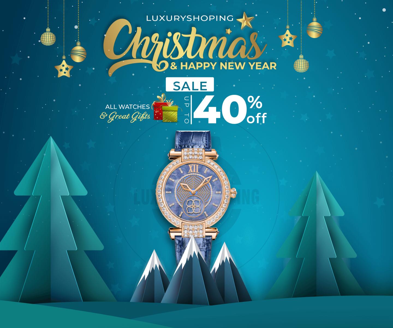 Holiday Season Sale up to 40%: Đón Giáng Sinh, chào Năm mới cùng Luxury Shopping
