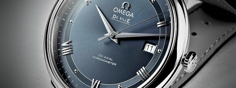 banner đồng hồ Omega DeVille co-axial COSC chronometer