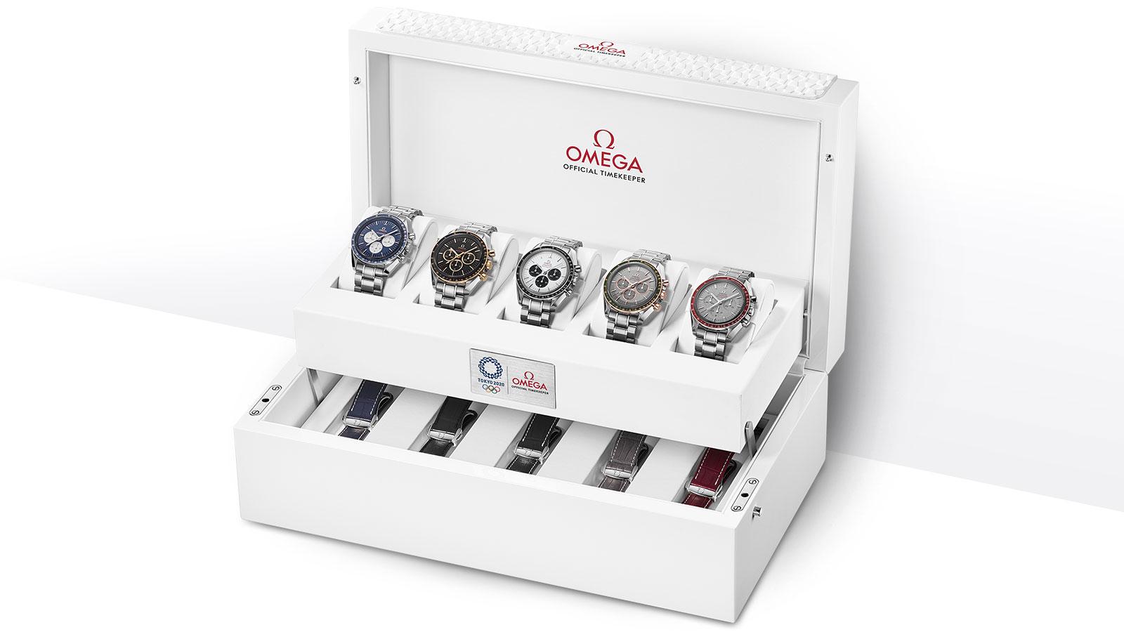 bộ sưu tập đồng hồ Omega Speedmaster Professional Tokyo 2020 Limited Editions