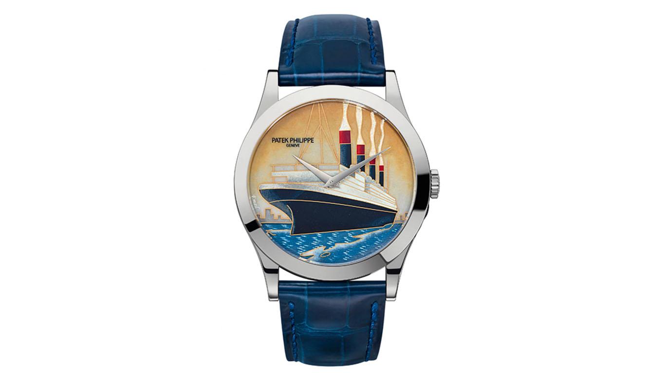 Đồng hồ Patek Philippe cùng nghệ thuật phủ men lên mặt số