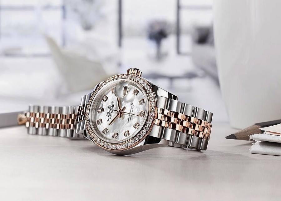 Những mẫu đồng hồ nữ mang phong cách cổ điển của Hãng Rolex