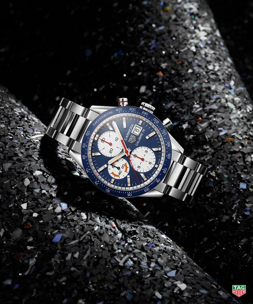 Đồng hồ TAG Heuer Carrera Calibre 16 Chronograph kỉ niệm 55 năm