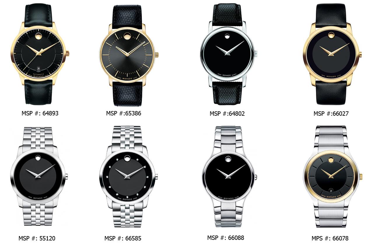 Bộ sưu tập đồng hồ Movado cho nam