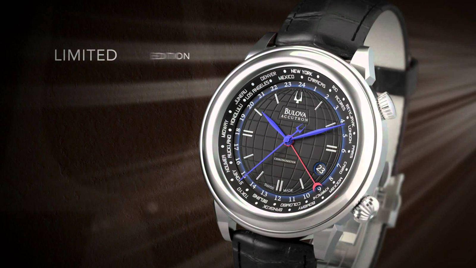 2e66b6d8fa8 đồng hồ Bulova Branson Swiss automatic với GMT