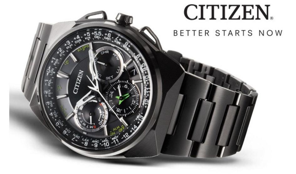 Đồng hồ thông minh chạy năng lượng mặt trời của Citizen - Luxury Shopping