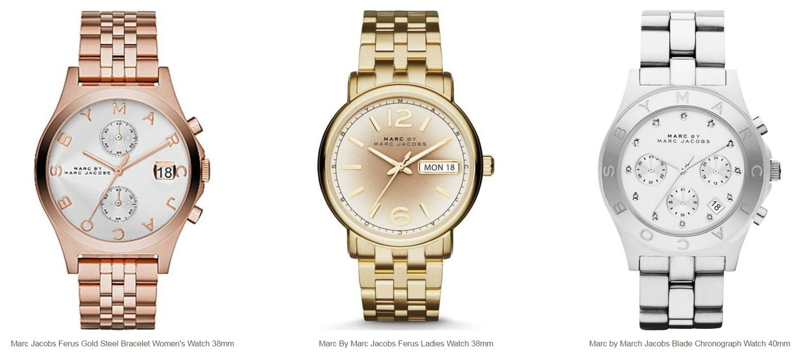 Đồng hồ Marc Jacobs chính hãng - Luxury Shopping