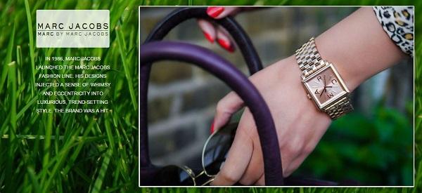 Đồng hồ Marc Jacobd hàng hiệu chính hãng - Luxury Shopping