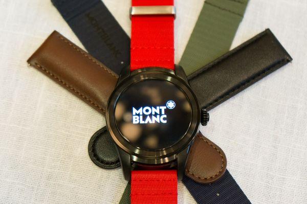 Không thua kém Tag Heuer, Montblanc cũng trình làng đồng hồ thông minh chạy Android Wear 2.0, chip Snapdragon, màn hình AMOLED