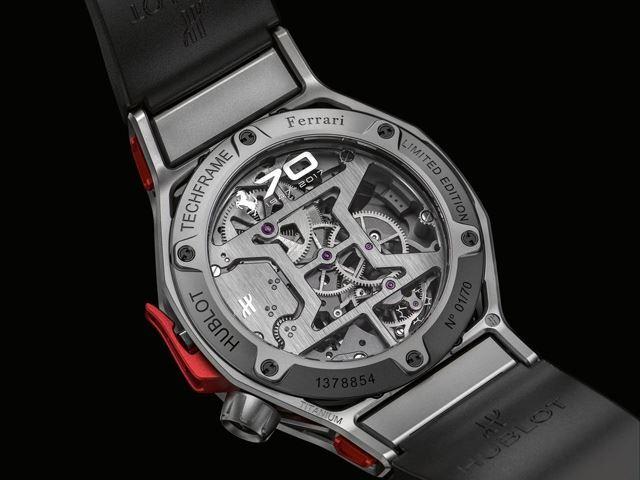 Hublot mừng kỷ niệm 70 năm thành lập của Ferrari với siêu phẩm đồng hồ gần 5 tỷ đồng