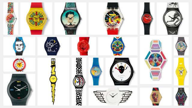 Swatch hiện đang sở hữu tới 18 thương hiệu đồng hồ danh tiếng