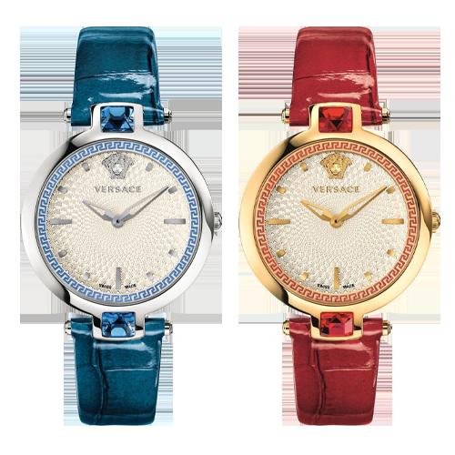 Versace Olympo Crystal Gleam Swiss Watch 37mm