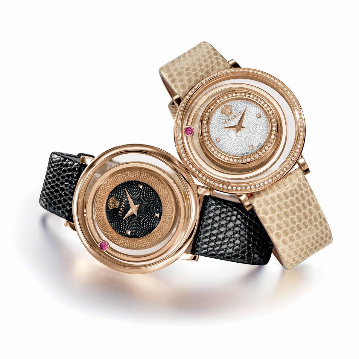 Versace Venus Rose Gold  Diamond Watch 39mm