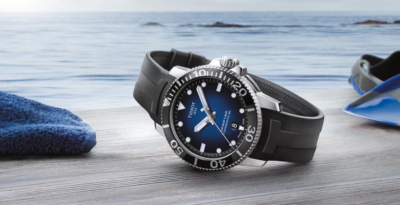 bộ sưu tập đồng hồ Tissot Seastar