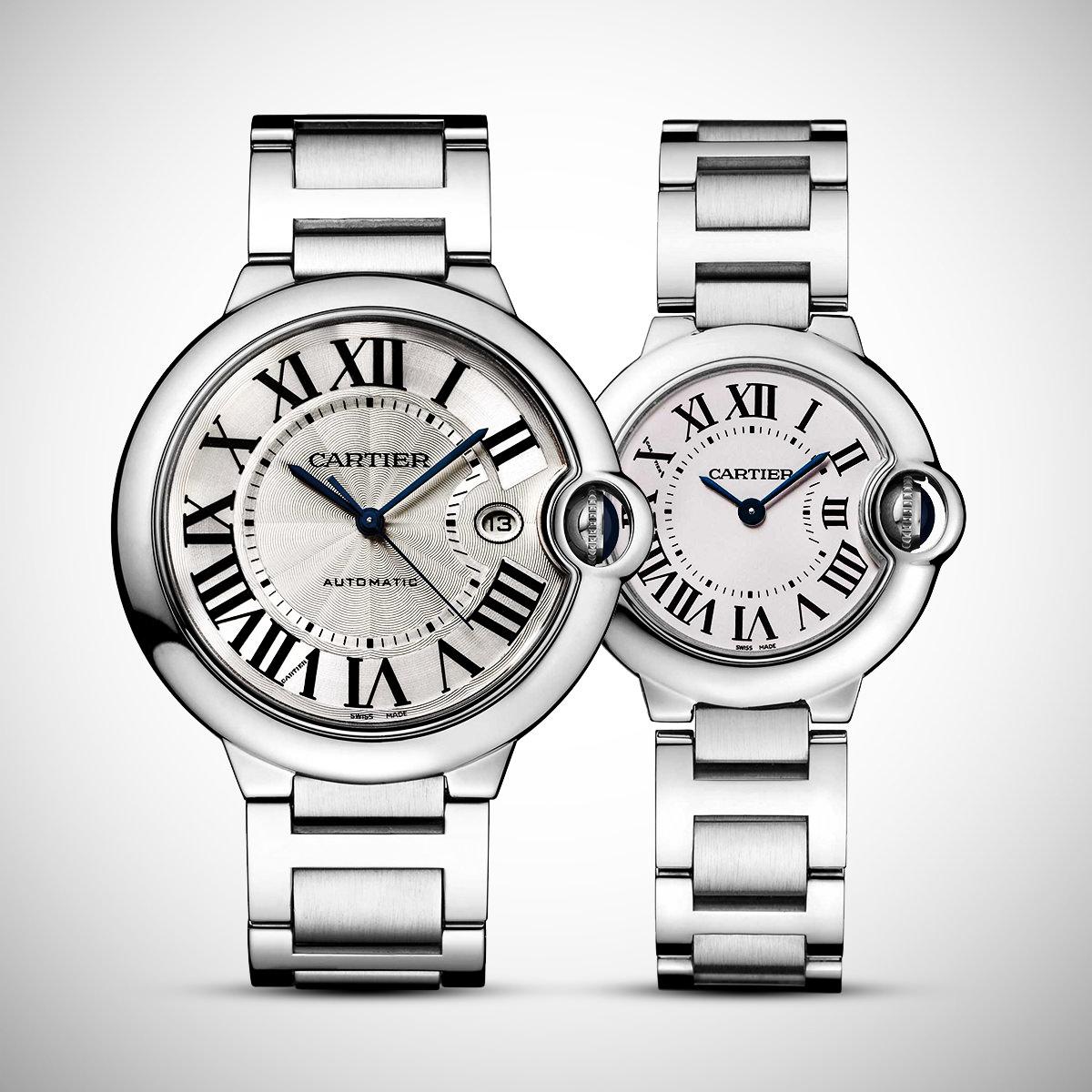 Đồng hồ cặp Cartier Ballon Bleu De Cartier