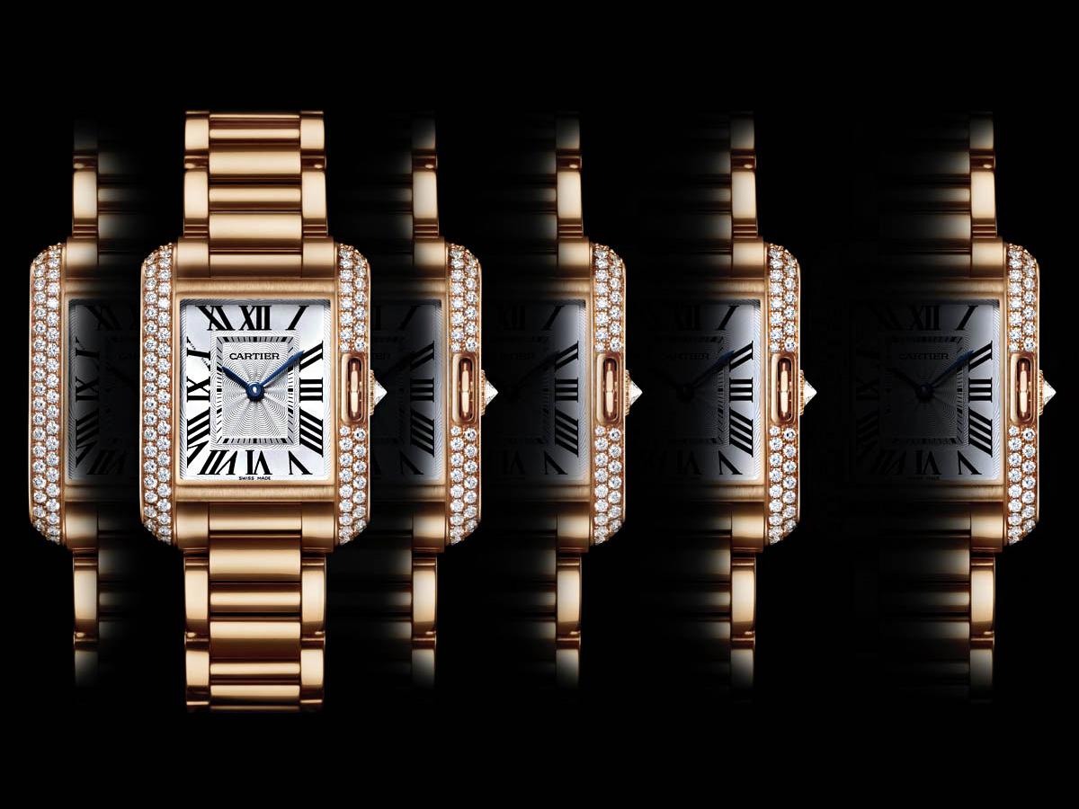 Biểu tưởng của những chiếc đồng hồ cartier