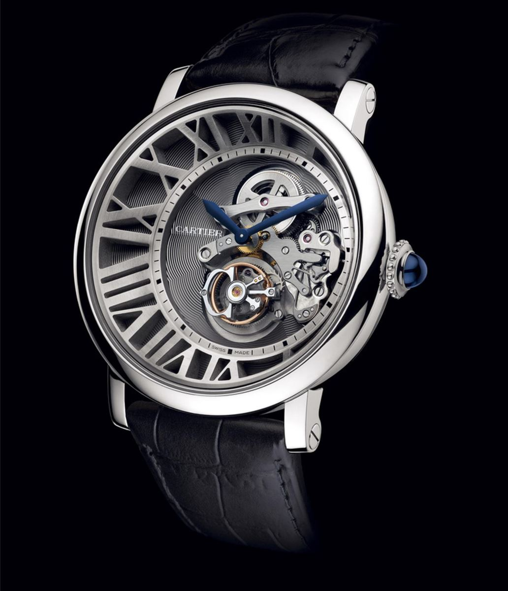dong ho flying tourbillon cartier