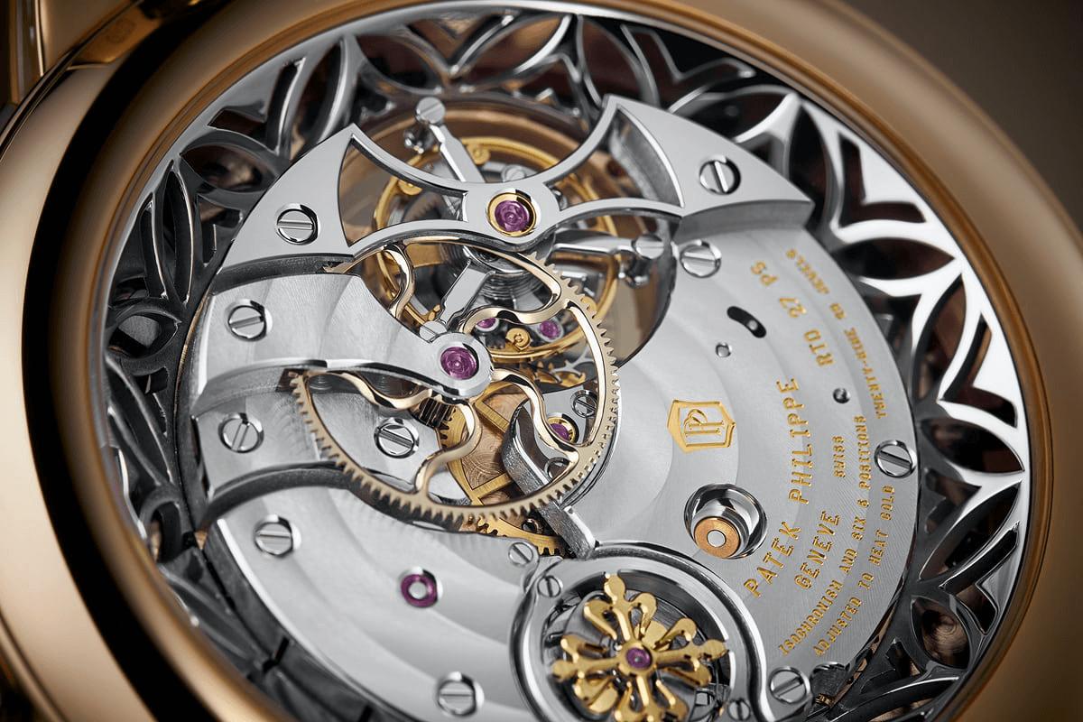 đẳng cấp của một chiếc đồng hồ tourbillon xa xỉ