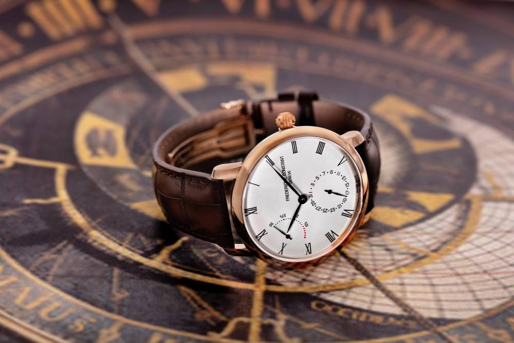 dong ho Frederique Constant Slimline Power Reserve Manufacture