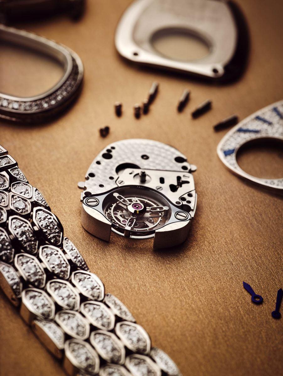 đồng hồ tourbillon Bvlgari Serpenti Seduttori