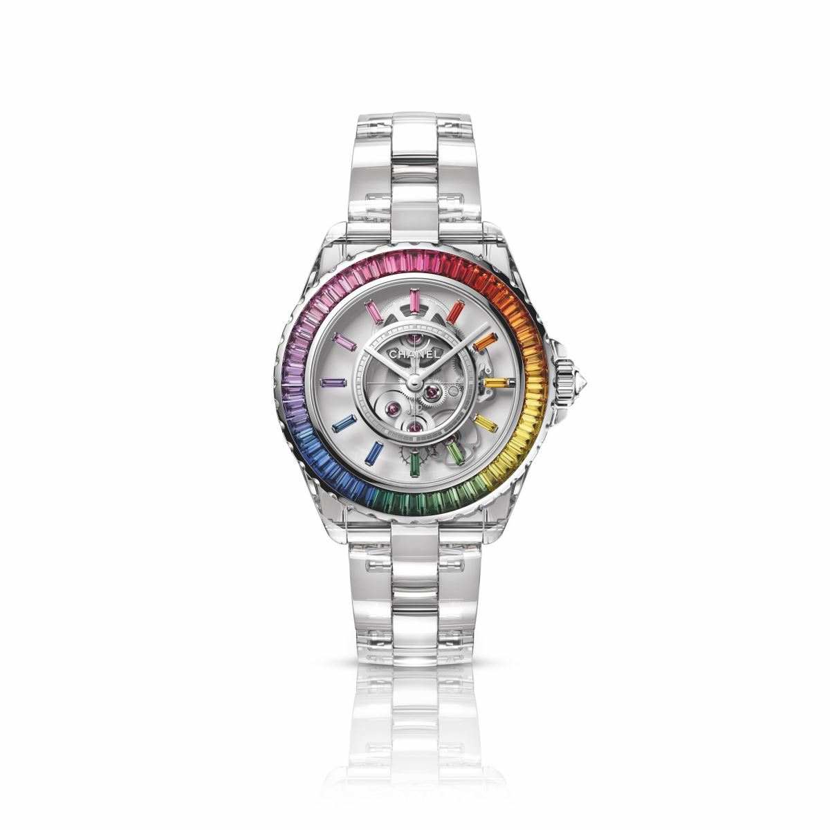 Đồng hồ Chanel J12 X-Ray Electro Calibre 3.1 2021