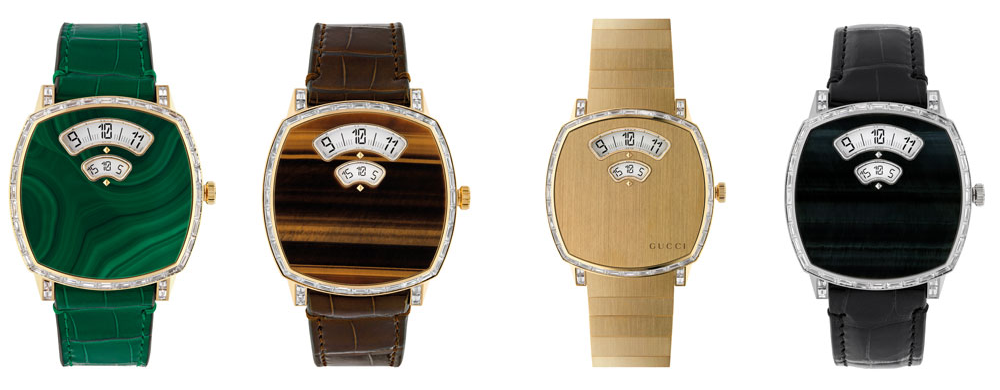 dong ho Gucci Grip high watchmaking 2021