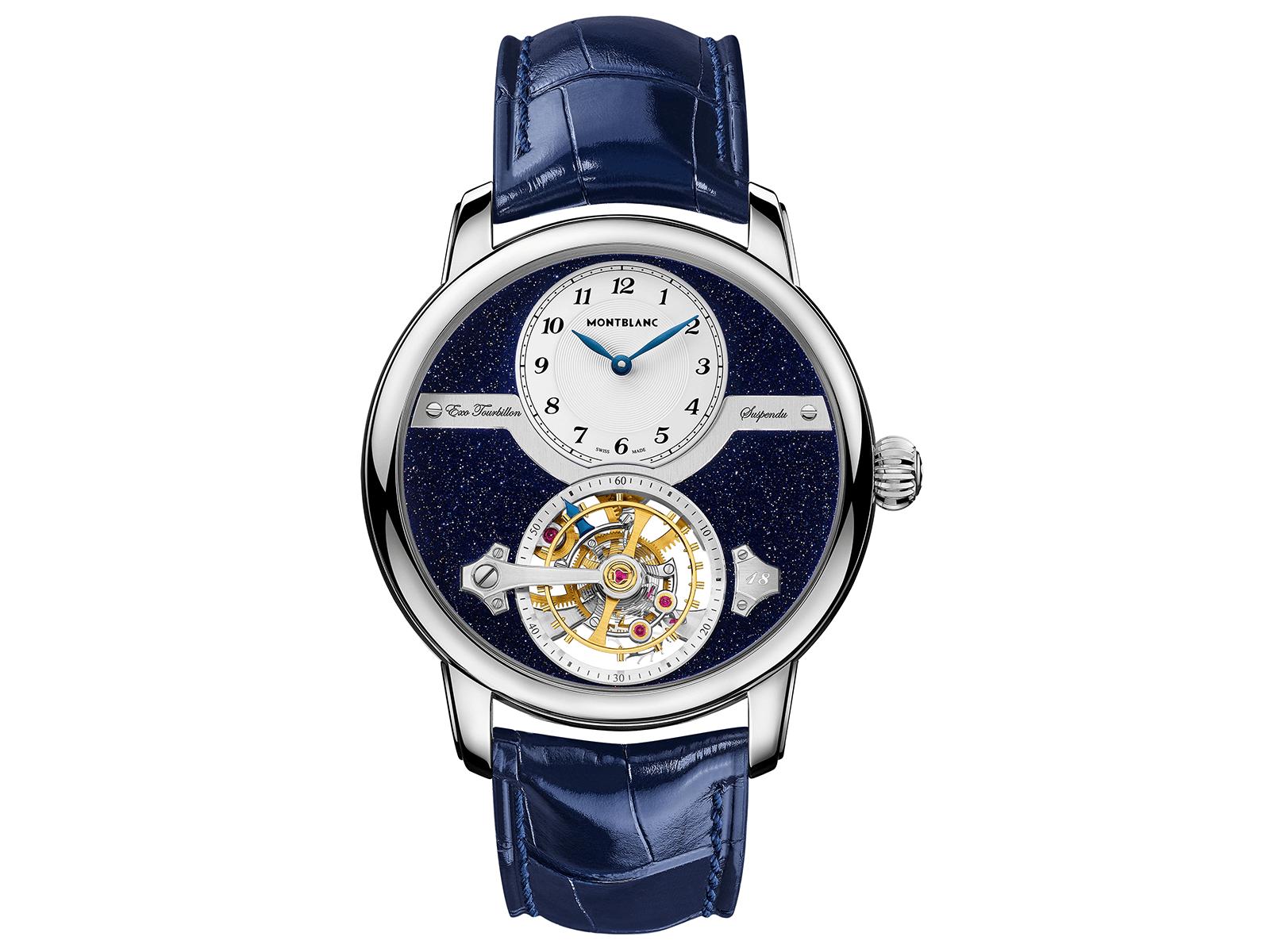 đồng hồ tourbillon montblanc star legacy suspended exo