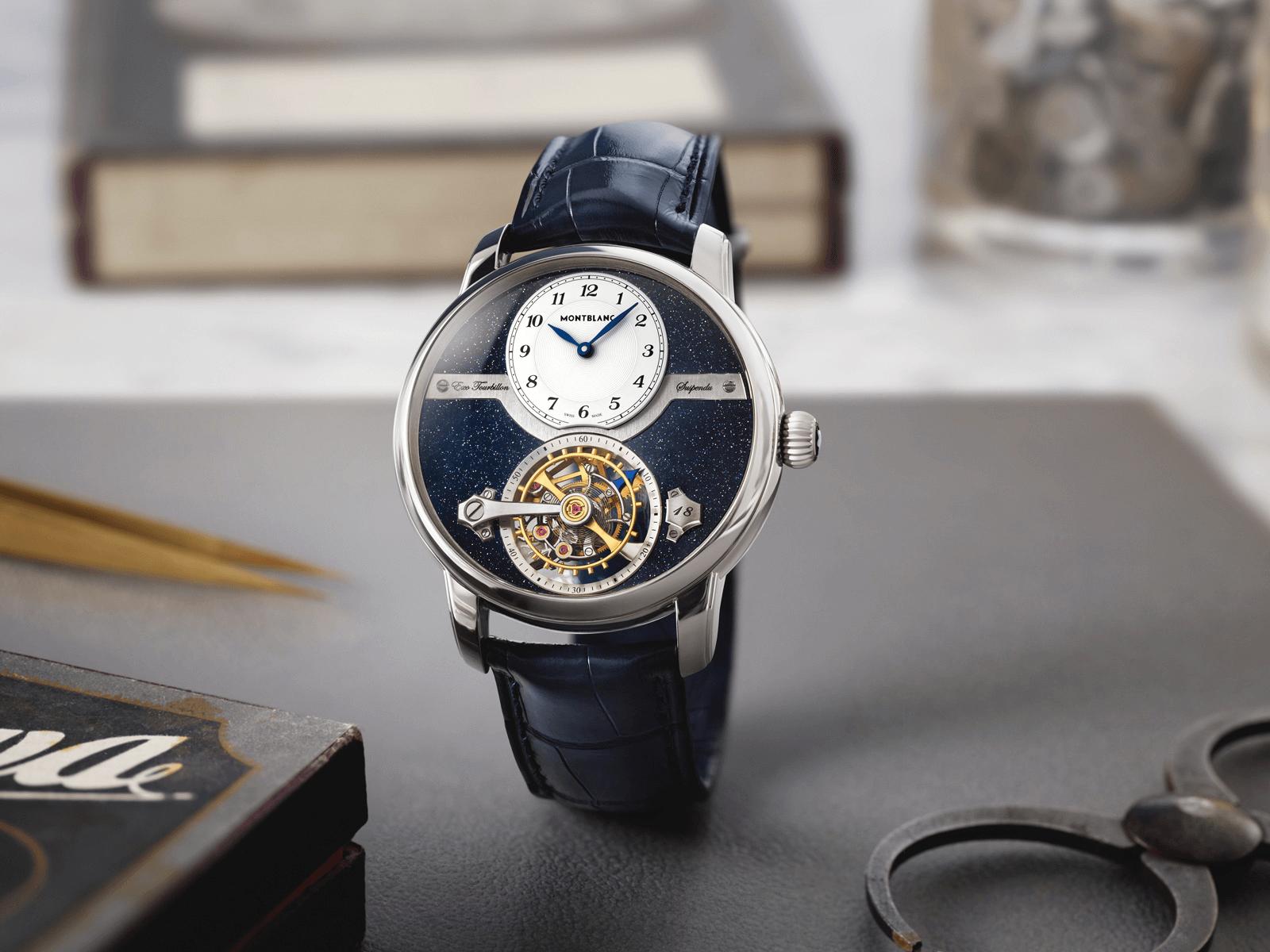 đồng hồ montblanc tourbillon suspended exo mới watches & wonders 2021