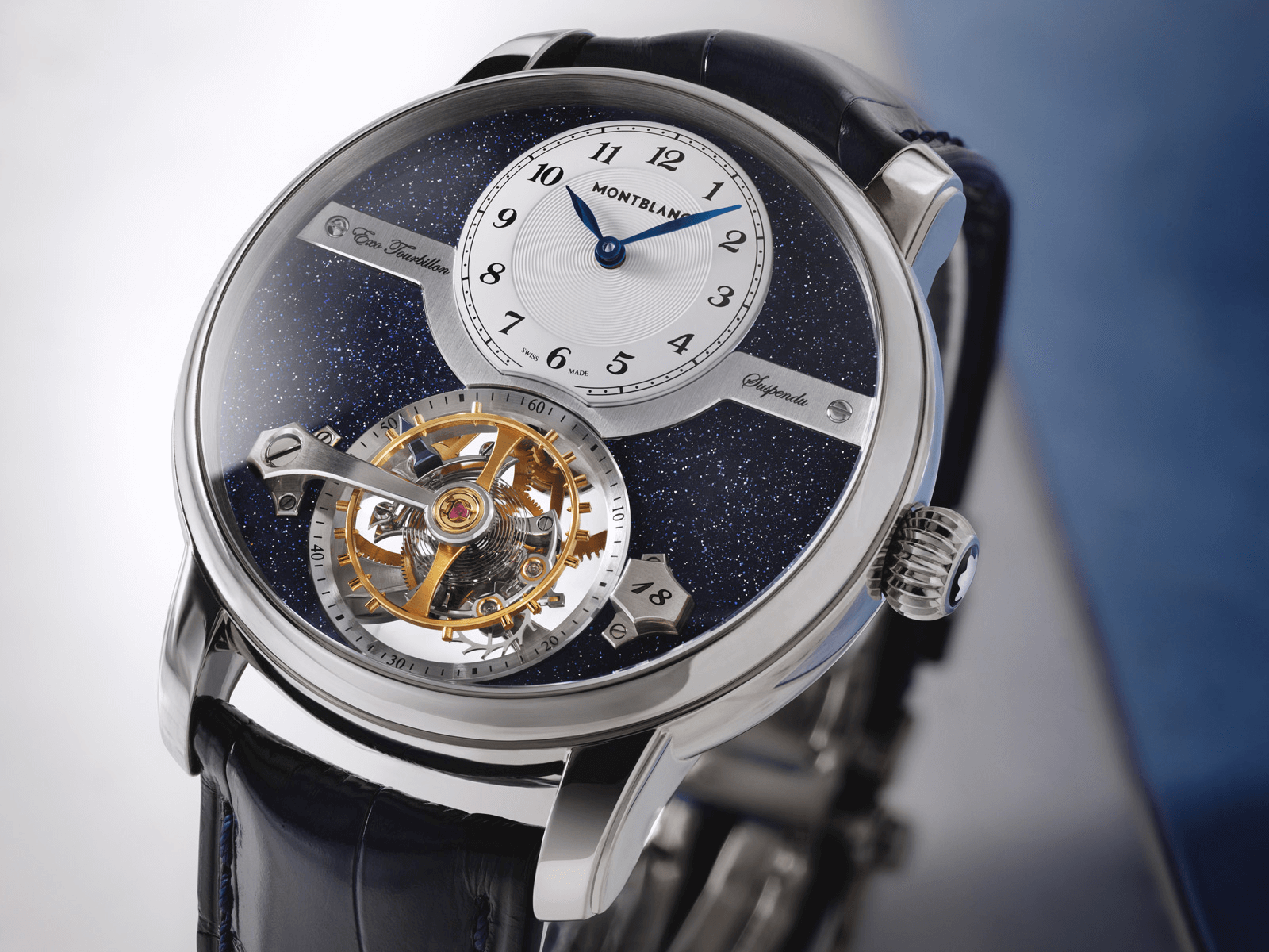 đồng hồ montblanc Star Legacy Suspended Exo Tourbillon watches and wonders 2021