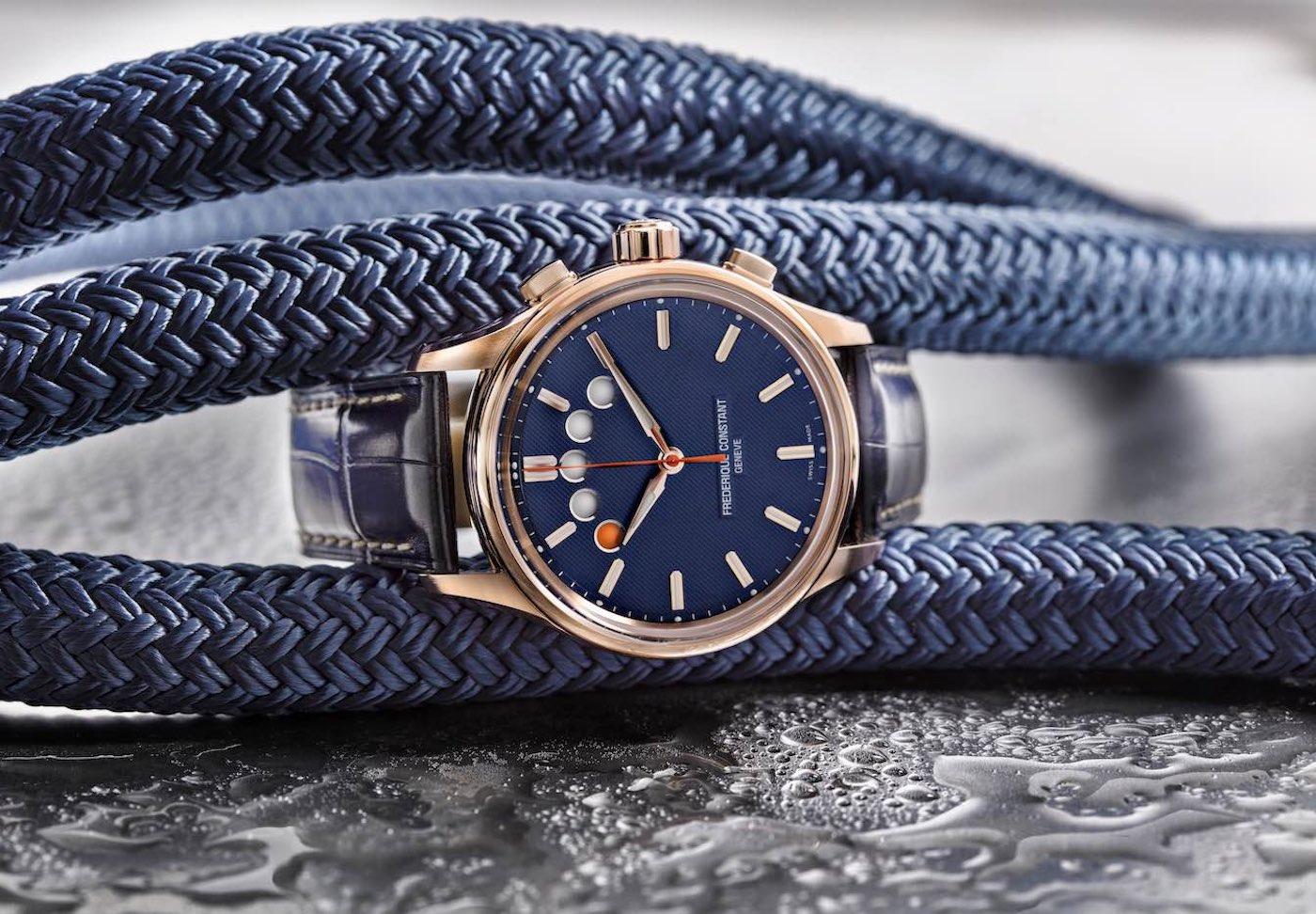 đồng hồ bấm giờ du thuyền Frederique Constant Yacht Timer Regatta Countdown