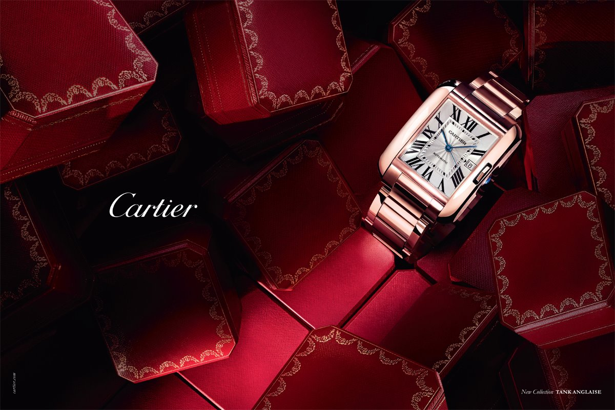 đồng hồ Tank de Cartier