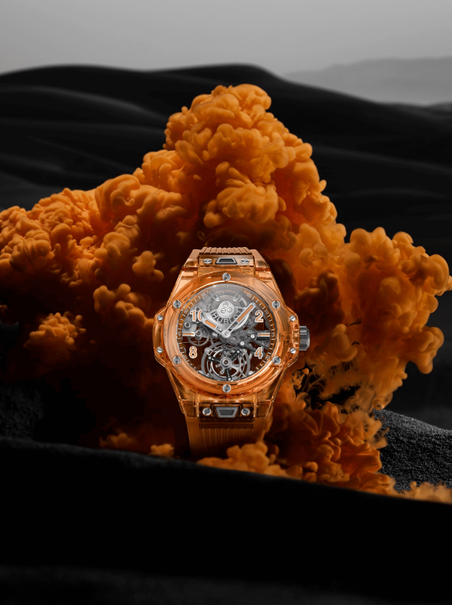 đồng hồ Hublot Big Bang Tourbillon Automatic Orange Sapphire