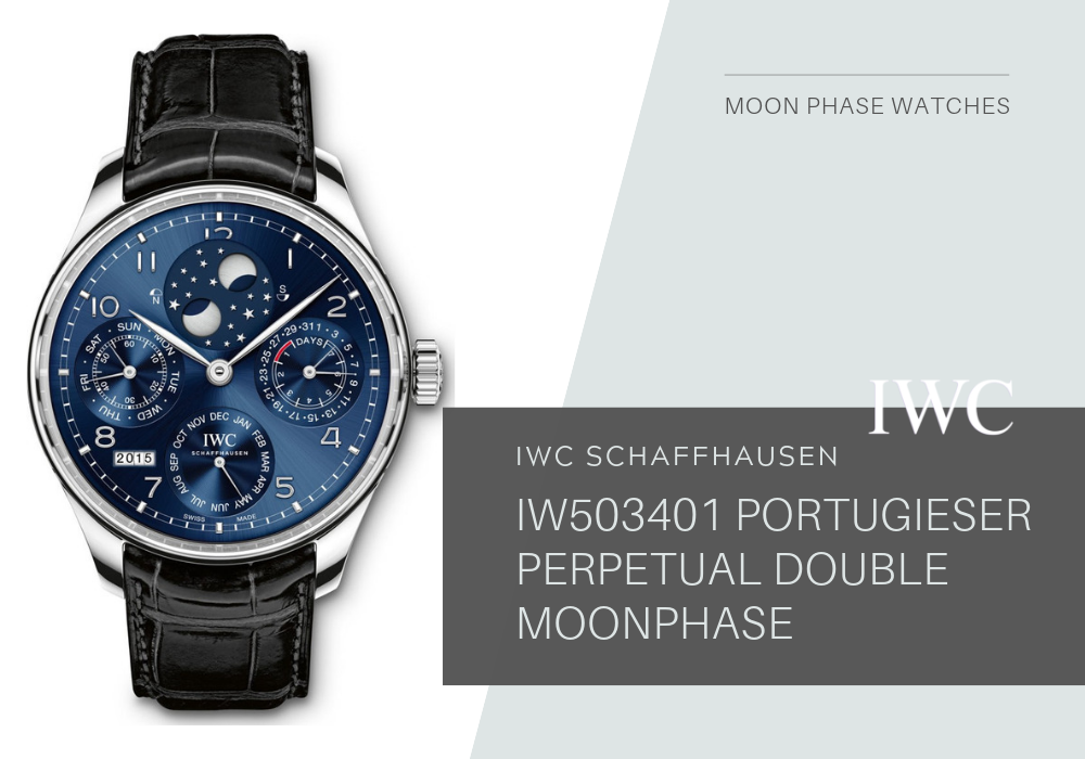 đồng hồ nam IWC IW503401 PORTUGIESER PERPETUAL DOUBLE MOONPHASE 18K 44.2MM