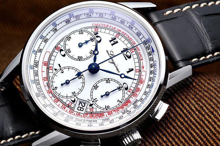 đồng hồ bấm giờ 6 kim Longines Heritage L2.781.4.13.2 Automatic 41mm