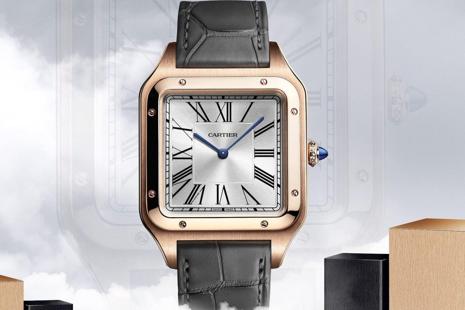 Cartier santos demont xl - Hiện đại hóa một thiết kế cổ điển