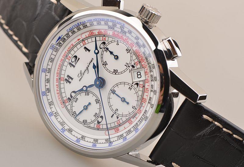 đồng hồ longines Longines Heritage Chronograph Tachymeter Ref. L2.781.4.13.2