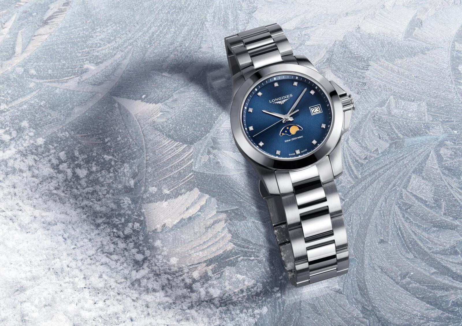 đồng hồ nữ longines conquest cao cấp chính hãng
