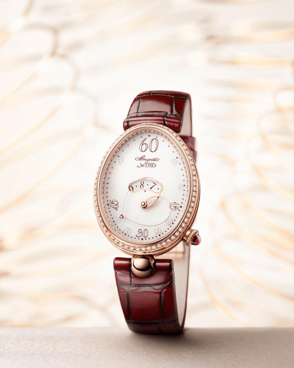 đồng hồ nữ Breguet Reine de Naples Cœur 9825 (Ref. 9825BR/S8/964 D00D)