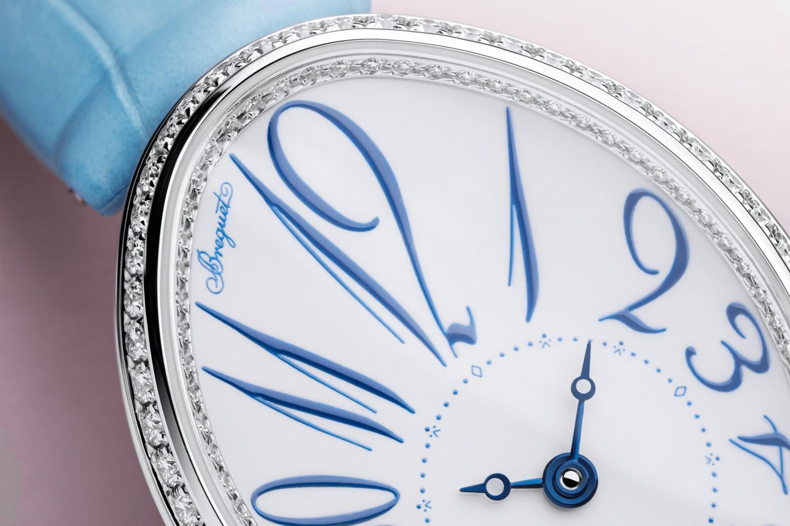 đồng hồ tráng men nữ breguet reine de naples 8198