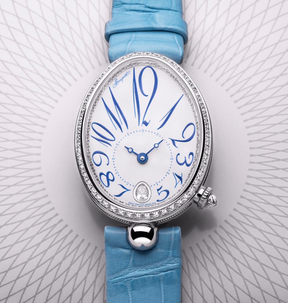 đồng hồ nữ sang trọng Breguet Reine de Naples 88919 ra mắt năm 2020