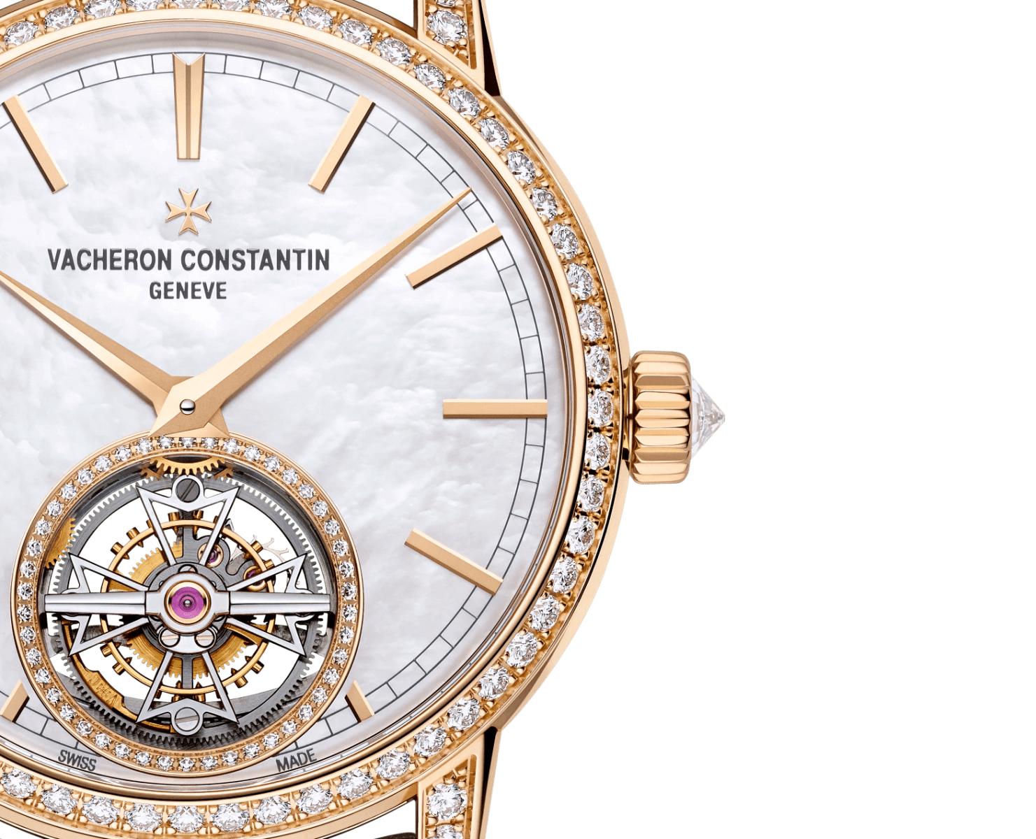 mặt số đồng hồ vacheron constantin traditionnelle tourbillon 6035T/000R-B634