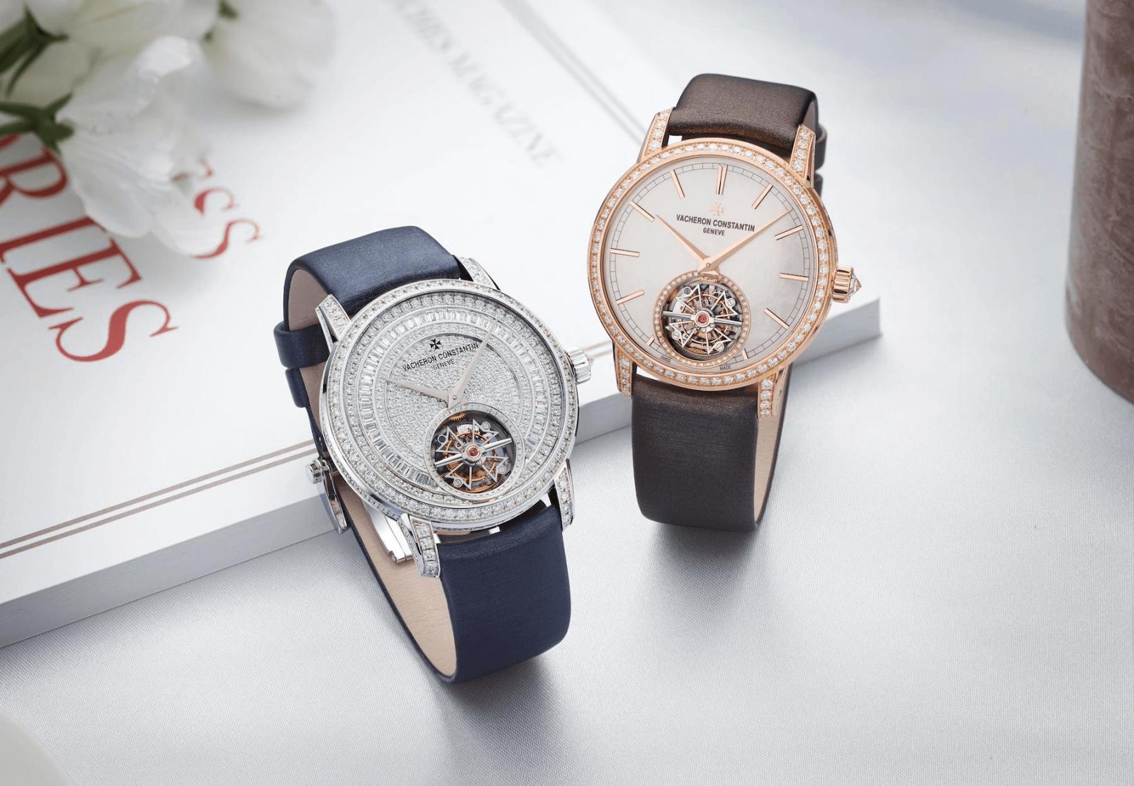 đồng hồ nữ tourbillon sang trọng vacheron constantin traditionnelle 2020
