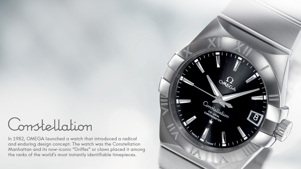 "Đồng hồ Omega Constellation ""Manhattan"""