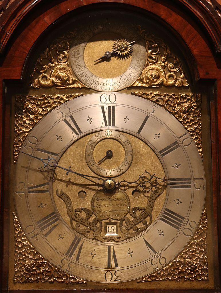 lịch sử đồng hồ phương trình thời gian