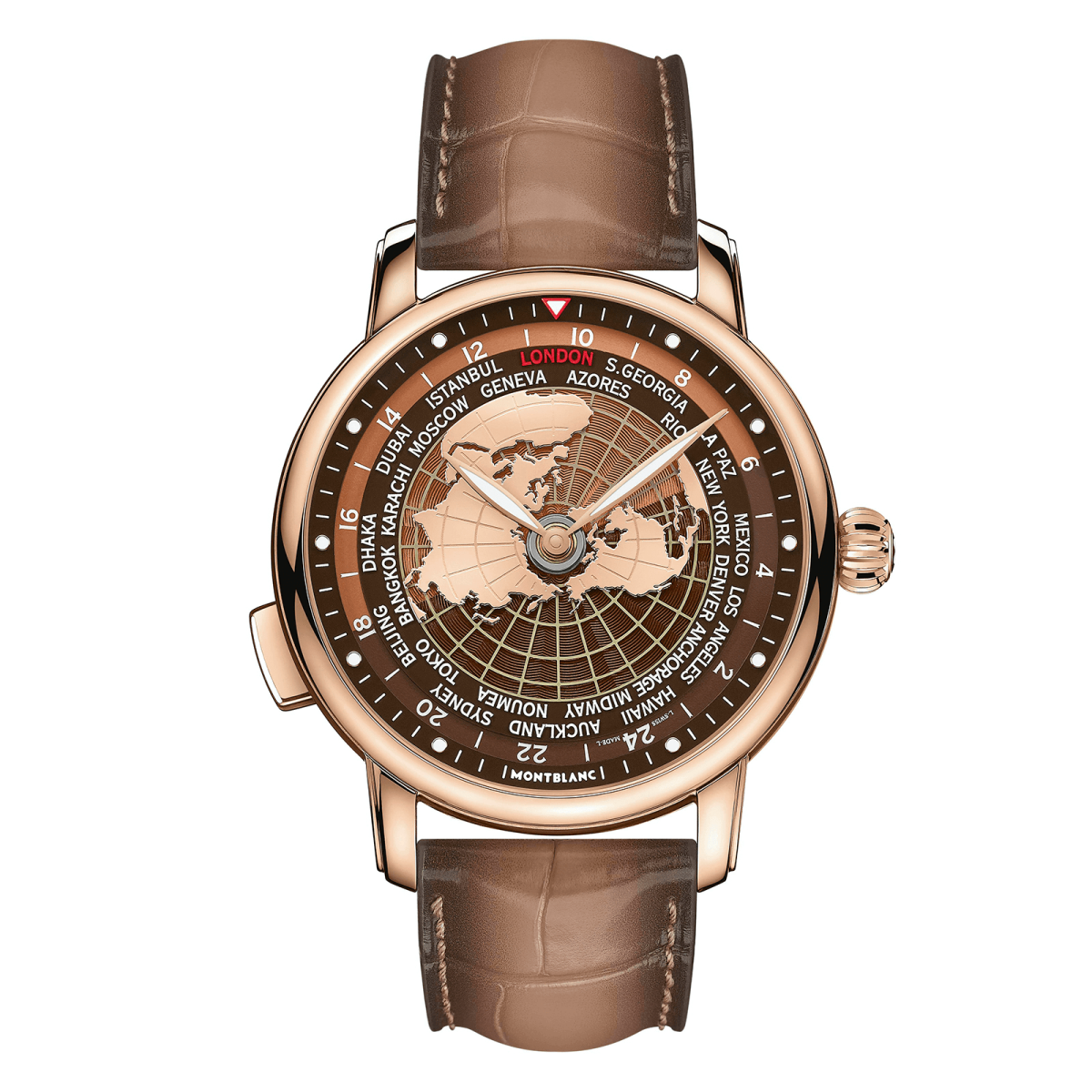 Montblanc Ra Mắt Star Legacy Orbis Terrarum Phiên Bản Limited rose-gold 2020