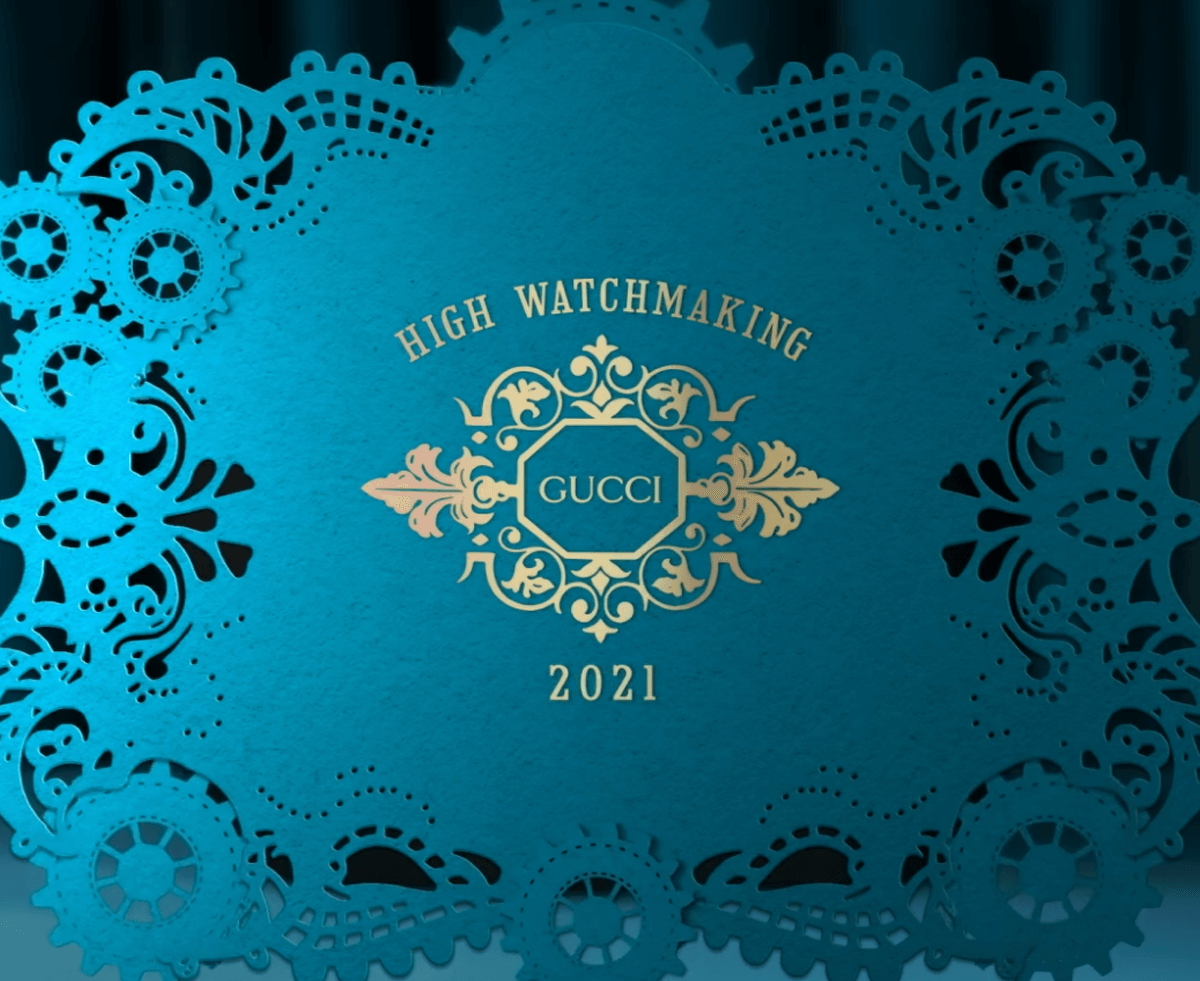 gucci High Watchmaking 2021